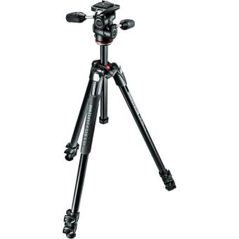 Manfrotto Kit 290 Expert Statief + MH804-3W Opbergtas