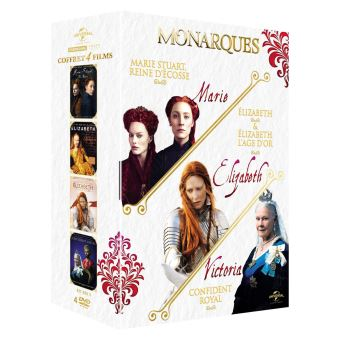 Coffret Monarques 4 Films DVD