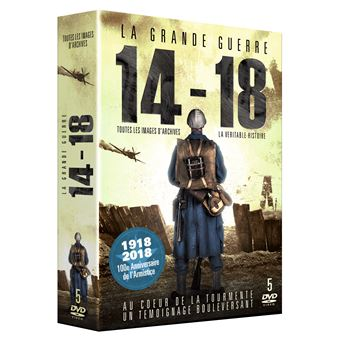 Coffret La Grande Guerre 1914-1918 5 Films DVD