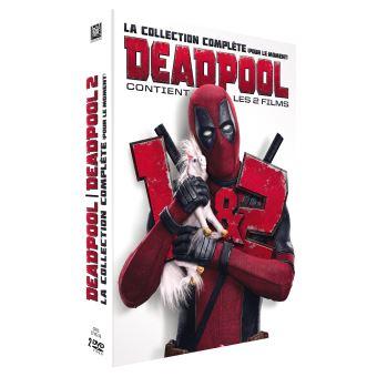 DeadpoolDeadpool 1 et 2 Coffret DVD