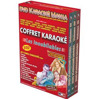 Karaoké Mania Les Inoubliables Coffret DVD