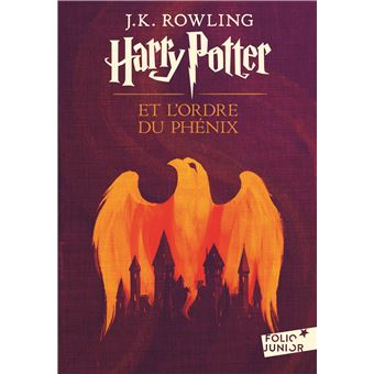 Harry Potter Tome 5 Harry Potter Et L Ordre Du Phenix