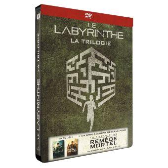 L'épreuveLe Labyrinthe La Trilogie Edition Limitée Steelbook DVD