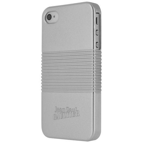Coque Jean Paul Gaultier Effet Boite de Conserve pour iPhone 5 5s Argent
