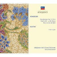 Honegger: Symphonies Nos. 2-4, Pacific 231, Le Roi David, Cantata de Noel / Martin: In terra pax