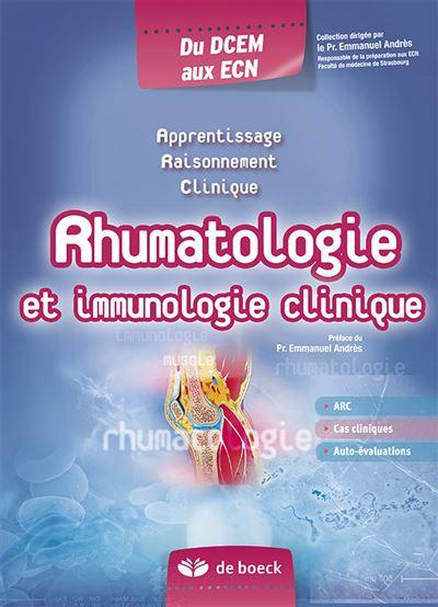 Rhumatologie et immunologie clinique