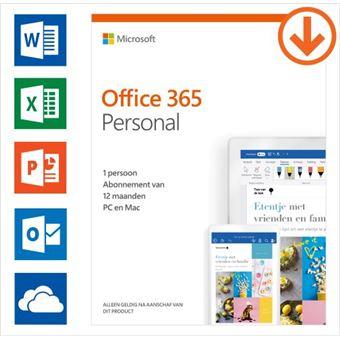 Microsoft Office 365 Personal NL (1 gebruiker)