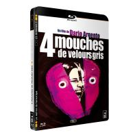 4 mouches de velours gris - Blu-Ray