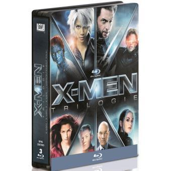 X-MenCoffret X-Men La Trilogie Steelbook Edition Limitée Blu-ray