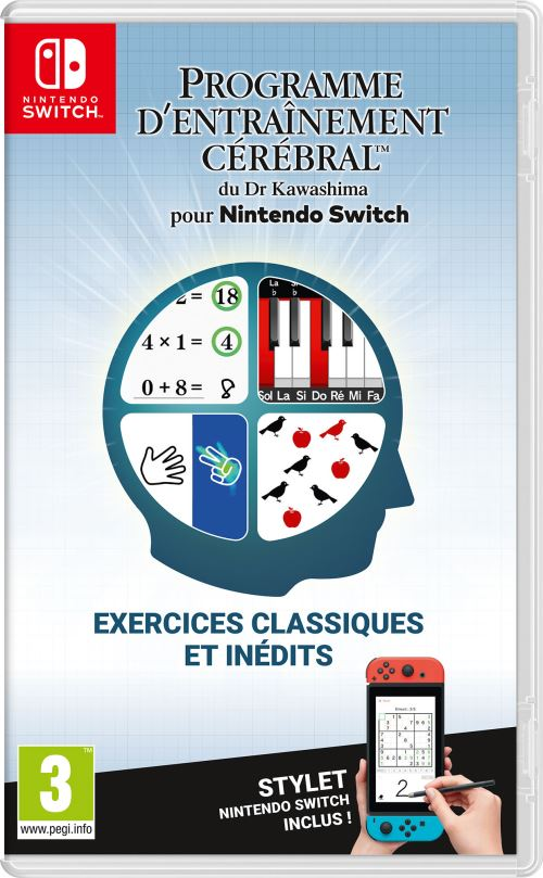 Programme d'entraînement cérébral du Dr Kawashima Nintendo Switch