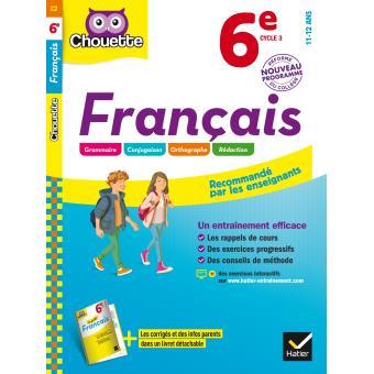 Francais 6eme Cycle 3 Workbook