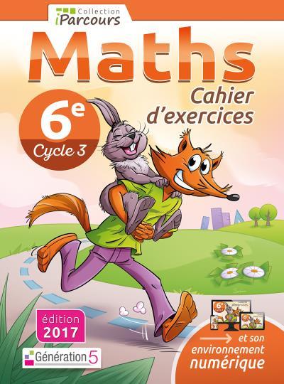 Iparcours Maths 6eme Cycle 3 Cahier D Exercices Workbook Broche Katia Hache Sebastien Hache Achat Livre Fnac