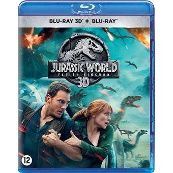 Jurassic world 2: Fallen kingdom-BIL-BLURAY 3D