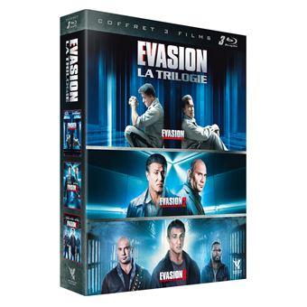 EvasionCoffret Evasion La Trilogie Blu-ray