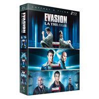 Coffret Evasion La Trilogie Blu-ray