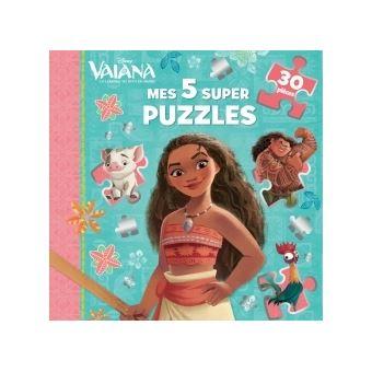 VaianaVAIANA - Mes 5 super puzzles 30 pièces