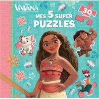 VAIANA - Mes 5 super puzzles 30 pièces