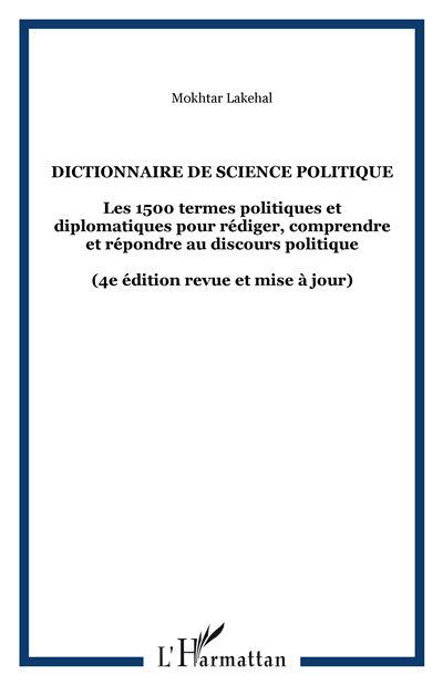 Dictionnaire de science politique