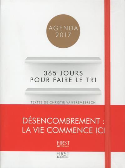 Agenda 2017 - 365 jours pour faire le tri