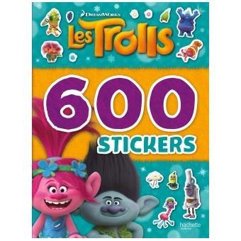 TrollsDreamworks - Trolls - 600 autocollants