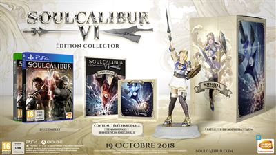 Soul Calibur VI Edition Collector PS4