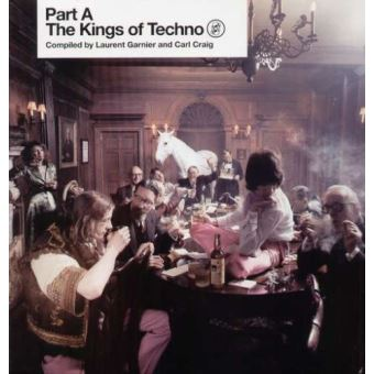 KINGS OF TECHNO 1/LP/COMPILED BY LAURENT GARNIER & CARL CRAI