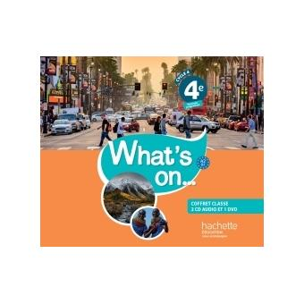 What S On Anglais Cycle 4 4e Coffret Cd Dvd Classe Ed 2017