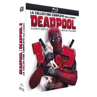 DeadpoolDeadpool 1 et 2 Coffret Blu-ray