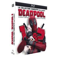 Deadpool 1 et 2 Coffret Blu-ray