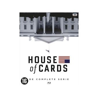 HOUSE OF CARDSTHE COMPLETE SERIES-NL-BLURAY