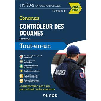 Concours Contrôleur des douanes 2018-2019 - Tout-en-un