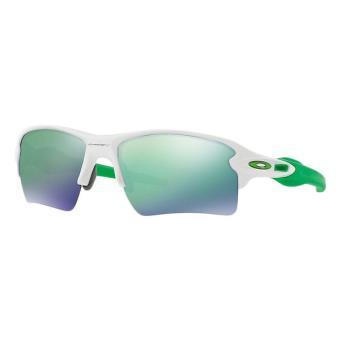 ... Lunettes de soleil Oakley Flak 2.0 XL Blanche et verte ... 36d315660f2c