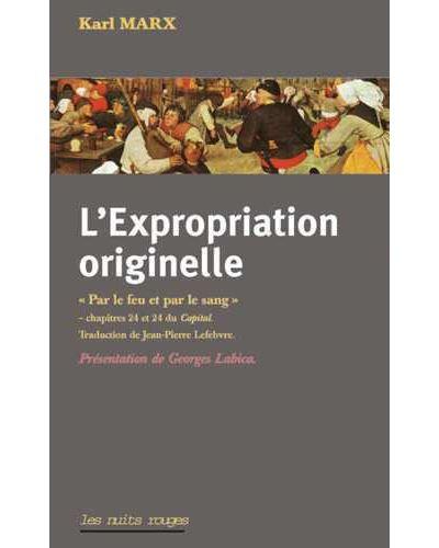 L'expropriation originelle