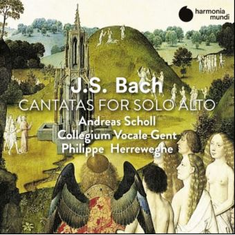 J.S. Bach Cantatas for Alto Solo