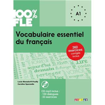 Vocabulaire Essentiel Du Francais Niv A1 2018 Livre Cd