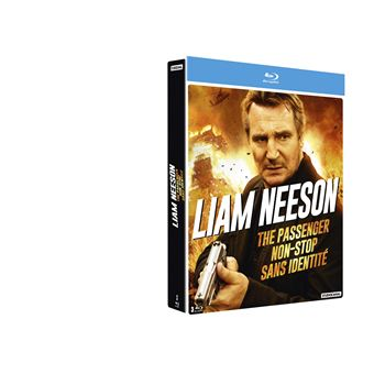 Coffret Liam Neeson 3 films Blu-ray