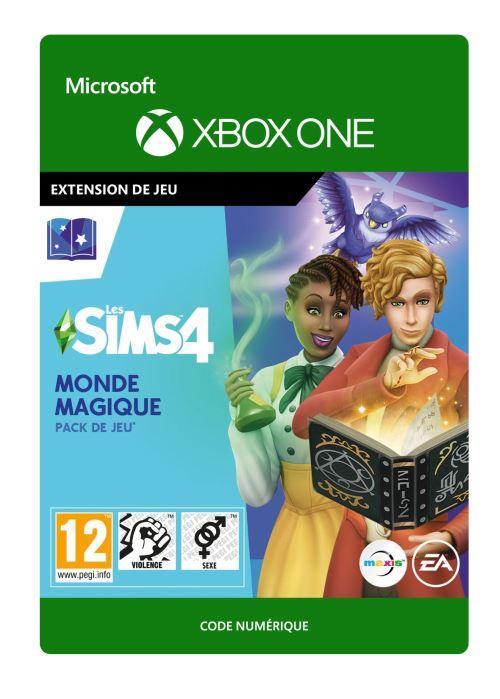 Code de téléchargement Les Sims 4 : Monde magique Xbox One