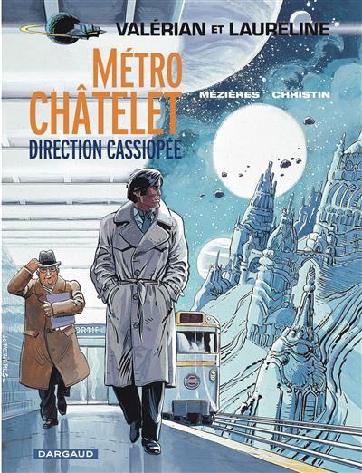 Métro Châtelet direction Cassiopée
