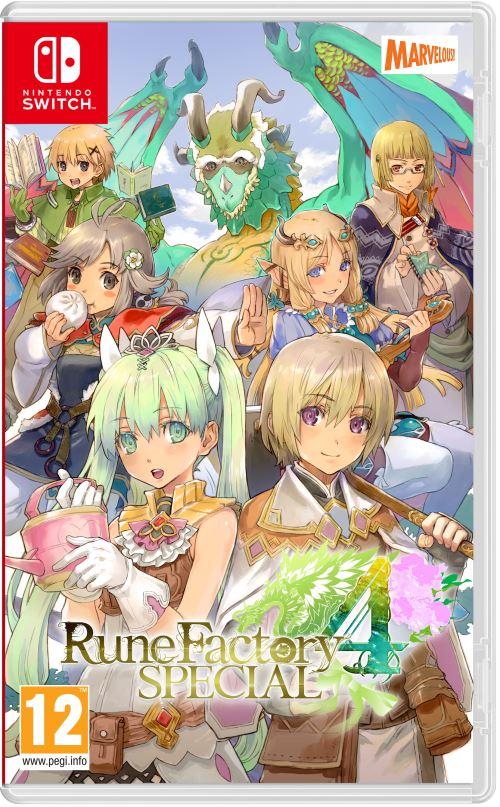Rune Factory 4 Spécial Nintendo Switch