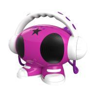 Lecteur portable MP3 USB Bigben Emma avec mémoire intégré Rose