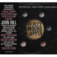 Six moons of jupiter