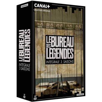 Le Bureau des légendesBureau des legendes/saisons 1 a 3/coffret