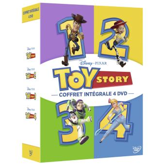 Toy StoryCoffret Toy Story L'intégrale DVD