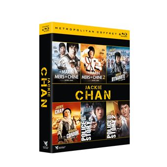 Coffret Jackie Chan 6 Films Blu-ray