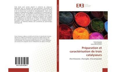 Preparation et caracterisation de trois catalyseurs