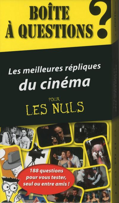 Pour les Nuls -  : Boite à questions les meilleures répliques du cinéma pour les nuls