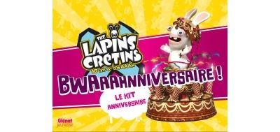 The Lapins crétins - Activités - Le kit anniversaire