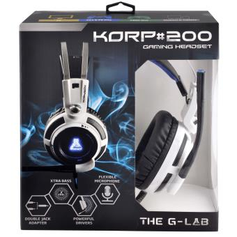 casque gamer the g-lab casque the g-lab korp 200