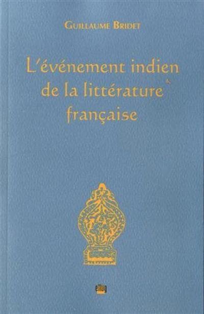 L'évènement indien de la littérature française