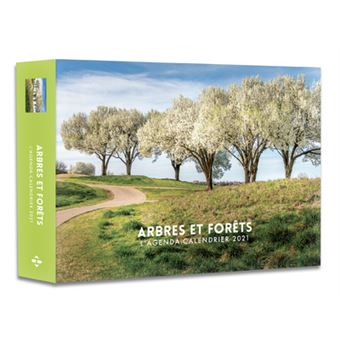 L'Agenda calendrier Arbres et forêts 2021   relié   Collectif